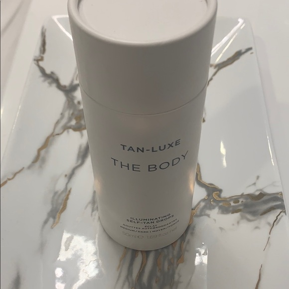 "tan luxe Other - Tan-luxe ""the body"" self-tan drops (50ml)"